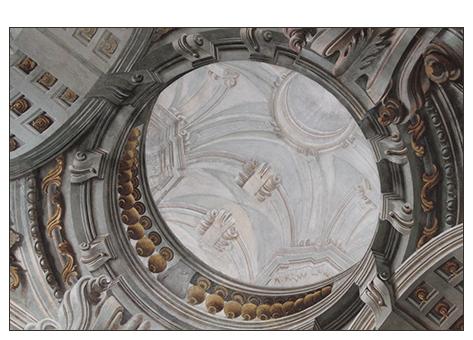 1754 Sopraelevazione e ciclo pittorico della volta